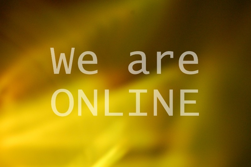 We are Online